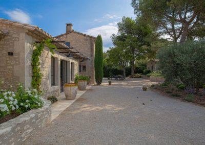 Saint Remy de Provence piscine location maison campagne Maison de village